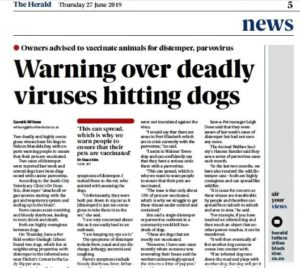 South City vet warns of deadly virus outbreak in PE
